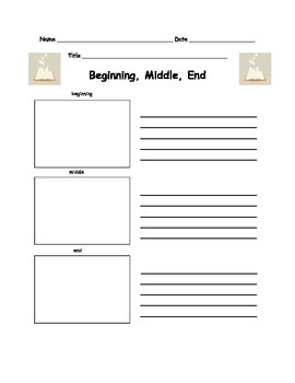 Response Page for Beginning Middle End