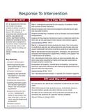 Response To Intervention Flip File