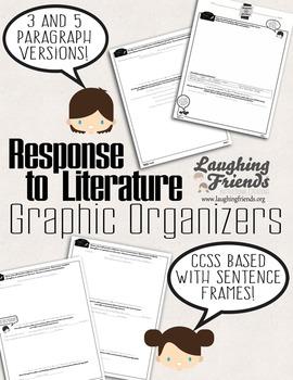 Response To Literature Graphic Organizer (Core Ready!)