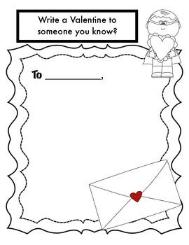 Response activity for Marc Brown's, Arthur's Valentine