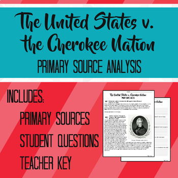 Response to Indian Removal Act Primary Source Analysis