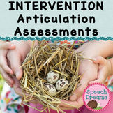 Articulation Assessments Response to Intervention