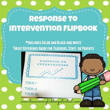 Response to Intervention Flipbook
