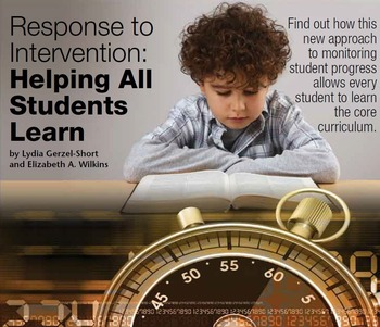 Response to Intervention: Helping All Students Learn