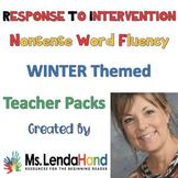 Response to Intervention Nonsense Word Fluency WINTER Bundle