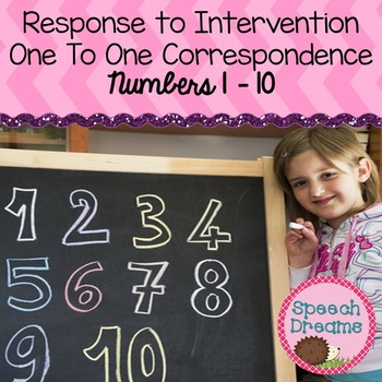 Number Identification {one to one correspondence Response