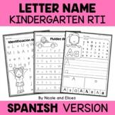 Spanish RTI - Letter Names