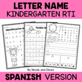 Spanish Kindergarten RTI Letter Identification
