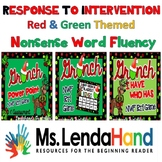 Response to Intervention Resource - RED & GREEN Bundle for