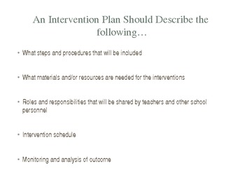 Response to Intervention (RtI) Professional/Personal Development Powerpoint