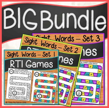 Response to Intervention Sight Words Games