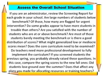 Response to Intervention: Training Materials and Support