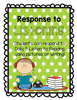 Response to Listening Daily 5