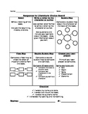 Response to Literature Choice Board and Rubric Duo