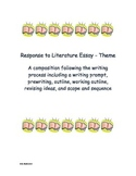 Response to Literature Essay Writing Project - theme