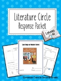 Response to Literature Packets- Levels J-M, Guided Reading