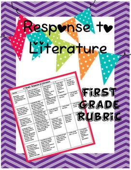 Response to Literature Rubric