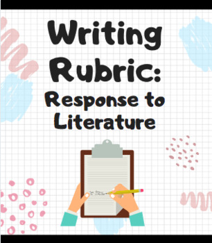 Response to Literature Rubric