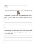 Response to Reading Log