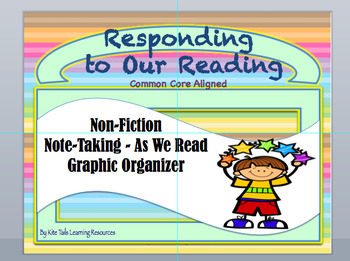 Response to Reading Non-Fiction Note-Taking Series