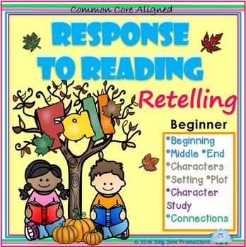 Response to Reading RETELLING FALL ACTIVITIES Beginner