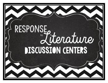 Response to literature centers chevron