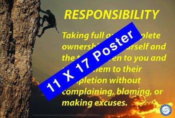 Responsibiliity 11 X 17 Poster