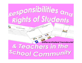 Responsibilities and Rights for Students and Teachers in t