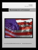 Responsibilities of Citizenship PowerPoint & Lesson Plan Bundle