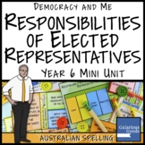 Responsibilities of Elected Representatives in Australia (Year 6 HASS)