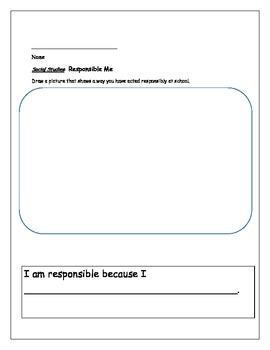 Responsibility Good Citizen Citizenship
