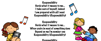 Responsibility - A Song to encourage Character Traits, Life Skills and SEL