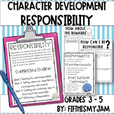 Responsibility - Developing Your Character Lesson Packet