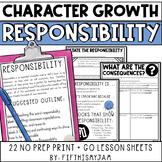 Character Development Building Responsibility