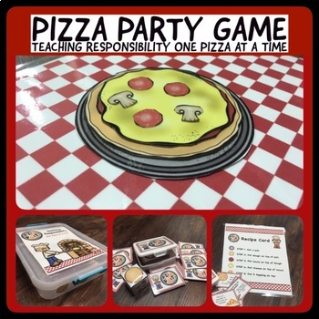 Responsibility & Character Development:  Pizza Party Game