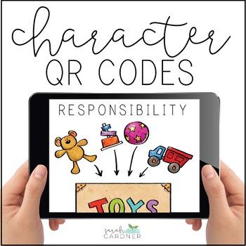 Responsibility Character Education QR Code Exploration