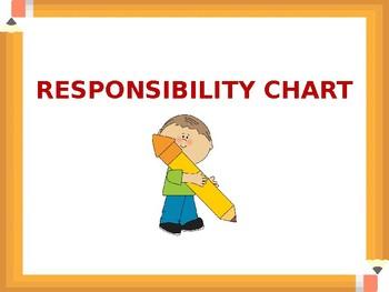 Responsibility Chart (EDITABLE)