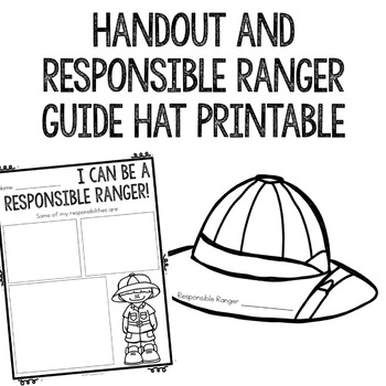 Responsibility Classroom Guidance Lesson for Early Elementary/Primary Counseling