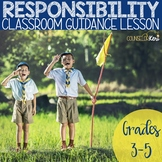 Responsibility Classroom Guidance Lesson for Elementary School Counseling