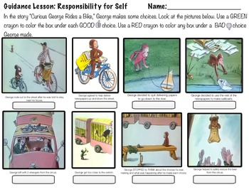 """Responsibility & Decision Making w/ """"Curious George Rides a Bike"""""""