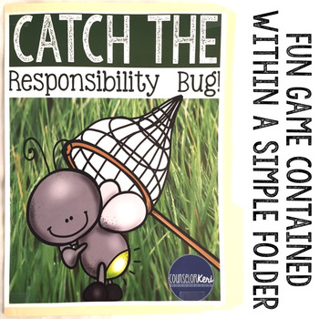 Responsibility Folder Game: Counseling Game for Elementary School Counseling