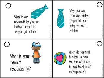 Responsibility Game Cards