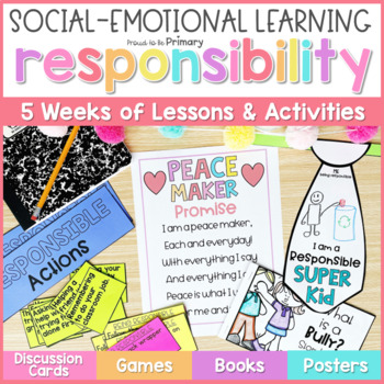Responsibility, Goal Setting, & Conflict Resolution - Social Emotional Learning