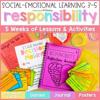 Responsibility, Leadership, & Decision Making - 3-5 Social Emotional Learning