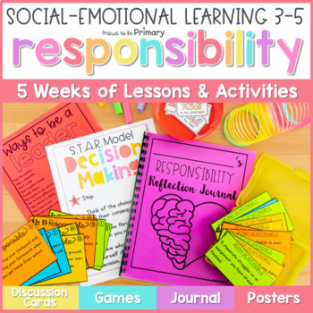 Responsibility, Leadership, & Decision Making - 3-5 Social Emotional Learning