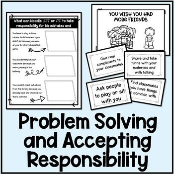 Responsibility Lesson Plan Bundle
