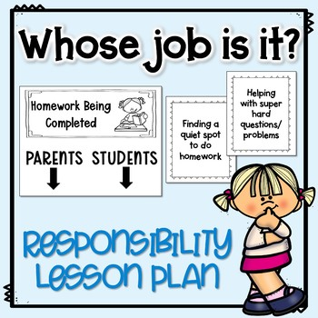 Responsibility Lesson Plan: Whose Job Is It?
