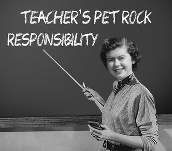 Responsibility MP3s by Teacher's Pet Rock