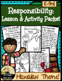 Responsibility Lesson & Activity Packet {Hawaii Theme}