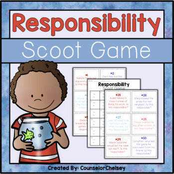 Responsibility Scoot Game